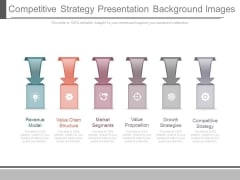 Competitive Strategy Presentation Background Images