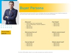 Competitor Analysis Buyer Persona Ppt Slides Example Topics PDF