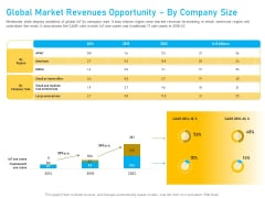 Competitor Analysis Global Market Revenues Opportunity By Company Size Ppt Styles Infographic Template PDF