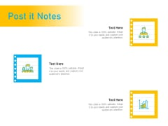 Competitor Analysis Post It Notes Ppt Slides Show PDF