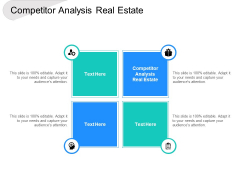 Competitor Analysis Real Estate Ppt PowerPoint Presentation Outline Maker Cpb
