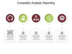 Competitor Analysis Reporting Ppt PowerPoint Presentation Pictures Mockup Cpb Pdf