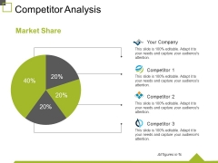 Competitor Analysis Template 2 Ppt PowerPoint Presentation Slides Microsoft