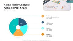 Competitor Analysis With Market Share Diagrams PDF