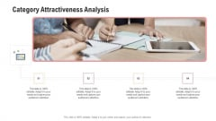 Competitor Assessment In Product Development Category Attractiveness Analysis Graphics PDF
