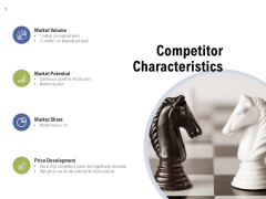 Competitor Characteristics Ppt PowerPoint Presentation Show Summary
