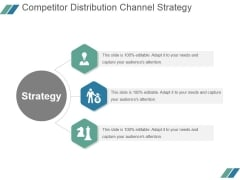 Competitor Distribution Channel Strategy Ppt PowerPoint Presentation Show