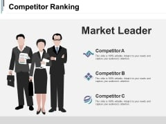 Competitor Ranking Ppt PowerPoint Presentation Icon Outline