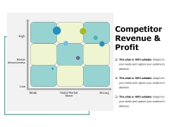 Competitor Revenue And Profit Template 2 Ppt PowerPoint Presentation Infographics Styles