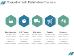 Competitor With Distribution Channels Ppt PowerPoint Presentation Templates