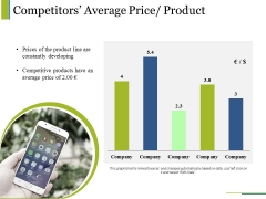 Competitors Average Price Product Ppt PowerPoint Presentation Summary Display