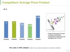 Competitors Average Price Product Ppt PowerPoint Presentation Visual Aids Summary
