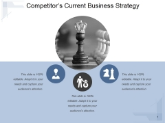 Competitors Current Business Strategy Ppt PowerPoint Presentation Backgrounds