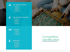 Competitors Identification Ppt PowerPoint Presentation Summary Files
