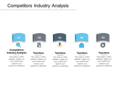Competitors Industry Analysis Ppt PowerPoint Presentation File Designs Cpb
