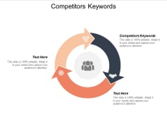 Competitors Keywords Ppt PowerPoint Presentation Styles Influencers Cpb