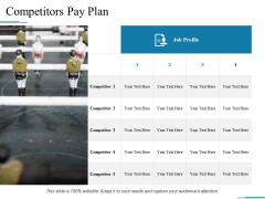 Competitors Pay Plan Ppt PowerPoint Presentation File Master Slide