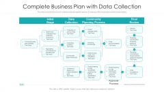 Complete Business Plan With Data Collection Ppt PowerPoint Presentation Portfolio Graphic Tips PDF