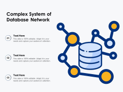 Complex System Of Database Network Ppt PowerPoint Presentation Gallery Background Designs PDF