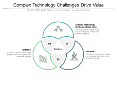 Complex Technology Challenges Drive Value Ppt PowerPoint Presentation Slides Good Cpb Pdf