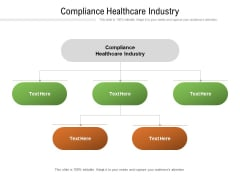 Compliance Healthcare Industry Ppt PowerPoint Presentation Outline Templates Cpb Pdf