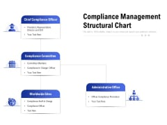 Compliance Management Structural Chart Ppt Model Graphics Template PDF