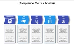 Compliance Metrics Analysis Ppt PowerPoint Presentation Model Example File Cpb