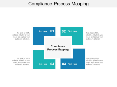 Compliance Process Mapping Ppt PowerPoint Presentation Model Deck Cpb