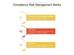Compliance Risk Management Banks Ppt PowerPoint Presentation Icon Sample Cpb