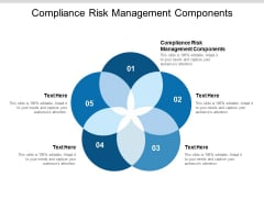 Compliance Risk Management Components Ppt PowerPoint Presentation Model Summary Cpb