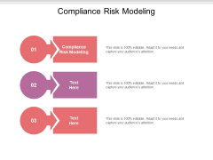 Compliance Risk Modeling Ppt PowerPoint Presentation Inspiration Grid Cpb Pdf