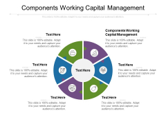 Components Working Capital Management Ppt PowerPoint Presentation Pictures Microsoft Cpb