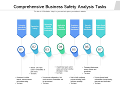 Comprehensive Business Safety Analysis Tasks Ppt PowerPoint Presentation Pictures Background Image PDF