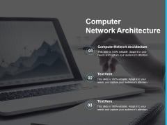 Computer Network Architecture Ppt PowerPoint Presentation Background Designs Cpb