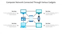 Computer Network Connected Through Various Gadgets Ppt PowerPoint Presentation File Designs PDF