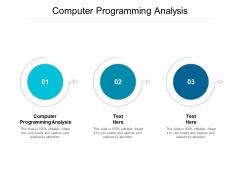 Computer Programming Analysis Ppt PowerPoint Presentation Portfolio Icons Cpb