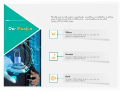 Computer Security Incident Handling Our Mission Ppt Styles Slides PDF
