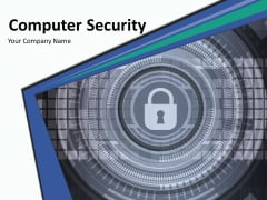 Computer Security Ppt PowerPoint Presentation Complete Deck With Slides