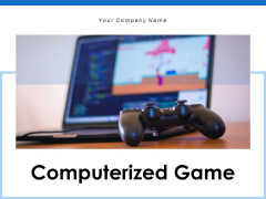 Computerized Game Individual Team Ppt PowerPoint Presentation Complete Deck