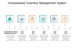 Computerized Inventory Management System Ppt PowerPoint Presentation File Graphics Template Cpb