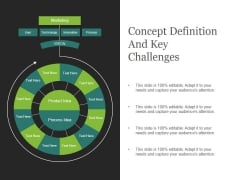 Concept Definition And Key Challenges Ppt PowerPoint Presentation Visuals