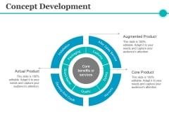Concept Development Ppt PowerPoint Presentation Icon Slideshow
