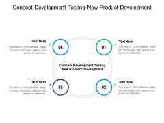Concept Development Testing New Product Development Ppt PowerPoint Presentation Professional Deck Cpb Pdf