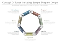 Concept Of Tower Marketing Sample Diagram Design