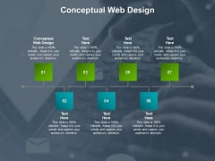 Conceptual Web Design Ppt PowerPoint Presentation Professional Guide Cpb