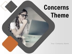 Concerns Theme Employee Environment Business Ppt PowerPoint Presentation Complete Deck