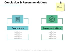 Conclusion And Recommendations Checklist Ppt PowerPoint Presentation Icon Files