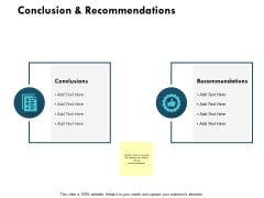 Conclusion And Recommendations Ppt PowerPoint Presentation Styles Slides