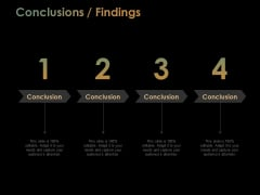 Conclusions Findings Ppt PowerPoint Presentation Outline Information