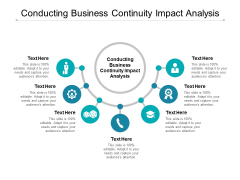 Conducting Business Continuity Impact Analysis Ppt PowerPoint Presentation Diagram Lists Cpb